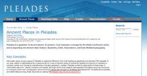 Pleiades resources